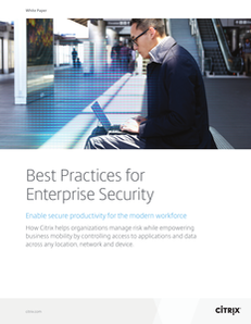 Best Practices for Enterprise Security
