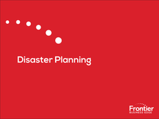 Disaster Planning e-Book
