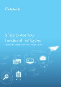 5 Tips to Accelerate Your Functional Test Cycles eBook