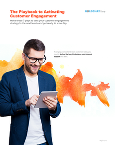 The Playbook to Activating Customer Engagement