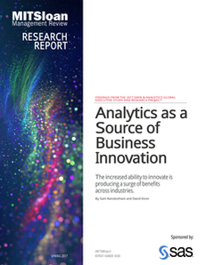 MIT Sloan Management Review. Analytics as a Source of Business Innovation