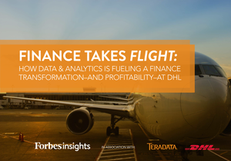 Finance Takes Flight: How Data and Analytics is Fueling a Finance Transformation at DHL