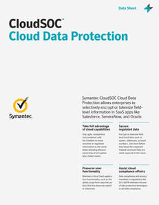 CloudSOC Cloud Data Protection