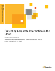 Protecting Corporate Information in the Cloud