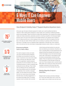 6 Ways IT Can Empower Mobile Users