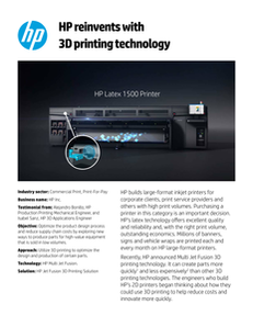 HP Reinvents for HP Case Study