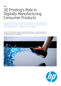 3D Printing Gets Real White Paper