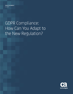 GDPR Compliance: How Can You Adapt To the New Regulation?