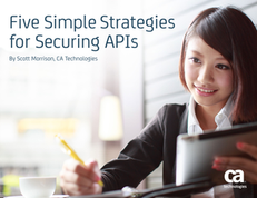 Five Simple Strategies For Securing API's