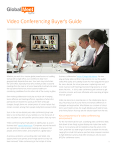 Video Conferencing: A Buyer's Guide
