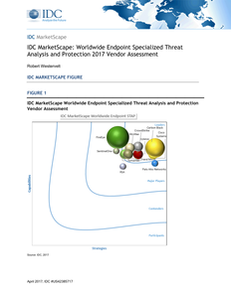 IDC MarketScape:Worldwide Endpoint Specialized Threat Analysis and Protection 2017 Vendor Assessment