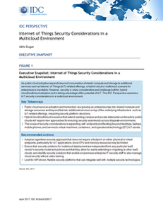 Internet of Things Security Considerations in a Multicloud Environment