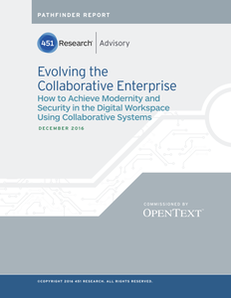 Evolve the Collaborative Enterprise in the Digital Workspace