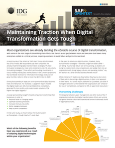 Tackling Digital Transformation Obstacles