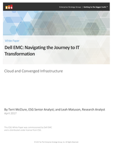 Navigating the Journey to IT Transformation