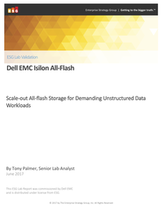 Scale-out All-flash Storage for Demanding Unstructured Data Workloads
