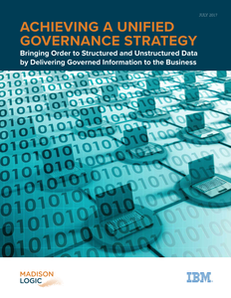 Achieving a Unified Governance Strategy