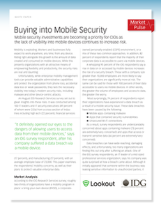 Market Insights: Mobile Threat Defense and EMM