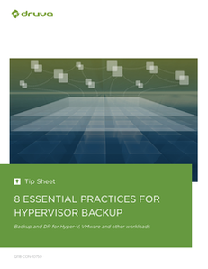 8 Essential Practices for Hypervisor Backup