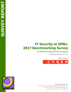 IT Security at SMBs: 2017 Benchmarking Survey