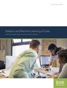Statistics and Machine Learning at Scale: New Technologies Apply Machine Learning to Big Data