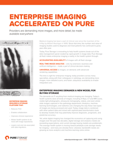 Enterprise Imaging Accelerated On Pure