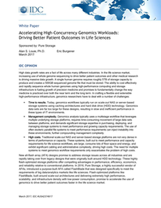 Accelerating High-Concurrency Genomics Workloads: Driving Better Patient Outcomes in Life Sciences