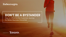 Forbes eBook: Don't be a Bystander: How to Influence the Customer Journey