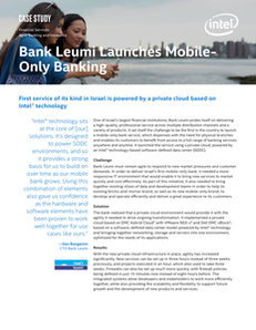 Bank Leumi Launches Mobile Only Banking
