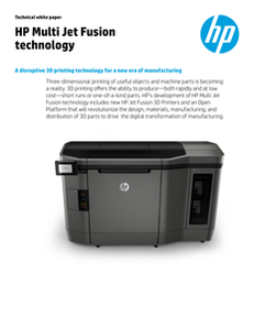 HP 3D Technical White Paper