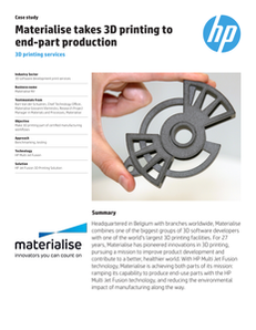 Materialise Case Study