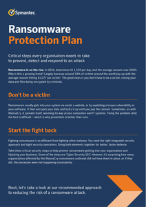 Ransomware Protection Plan