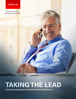 Taking the Lead: Competitive for Data-Driven Finance Organizations