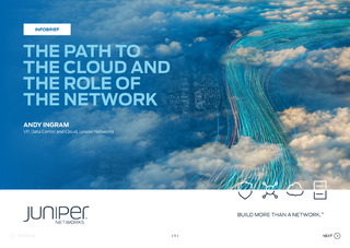 The Path to the Cloud and the Role of the Network