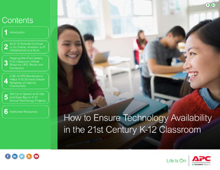 How to Ensure Technology Availability in the 21st Century K-12 Classroom