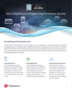 Get Comprehensive Mobile-Cloud Enterprise Security