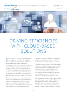 Driving Efficiencies with Cloud-Based Solutions