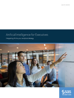 Artificial Intelligence for Executives: Integrating AI into your analytical strategy