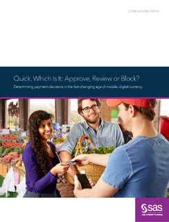 Quick, Which Is It ? Approve, Review or Block? Determining payment decisions