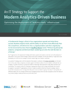 An IT Strategy to Support the Modern Analytics-Driven Business