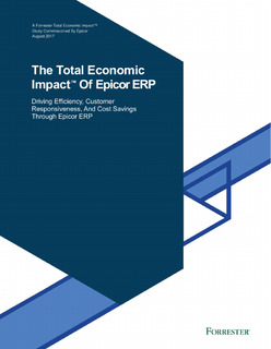 The Total Economic Impact Of Epicor ERP