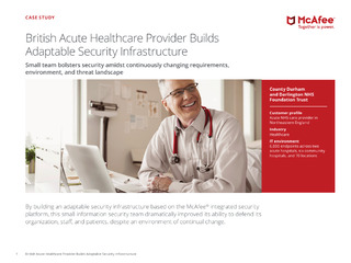 British Acute Healthcare Builds Adaptable Security Infrastructure