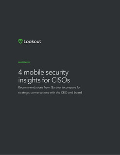4 Mobile Security Insights for CISOs
