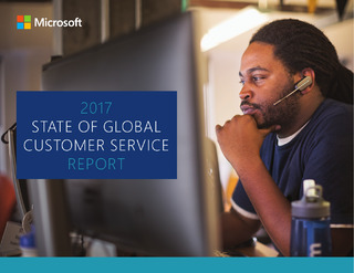2017 Global State of customer service report