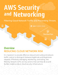 AWS Security and Networking – Filtering Cloud Network Traffic and Preventing Threats