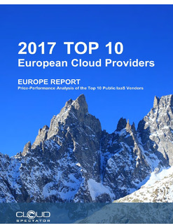 Europe Report- Price- Performance Analysis of the Top 10 Public Iaas Vendors