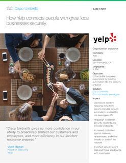 How Yelp connects people with great local businesses securely.