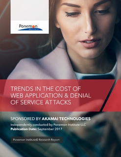 Trends In The Cost Of Web Application & Denial Of Service Attacks