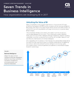 Seven Trends in Business Intelligence