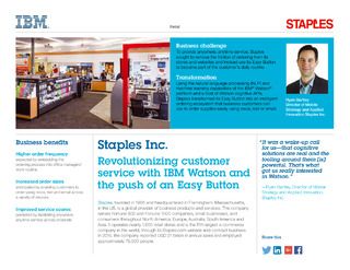 """Staples Inc"" case study: Customer services with virtual assistants"
